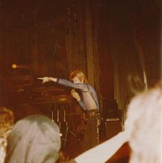 January 6th 1973. David Bowie at The Empire Theatre. Photo by © Julie Tomlinson, Empire/Festival Theatre. The Edinburgh Gig Archive -