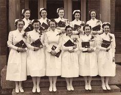 Children's Hospital School of Nursing Graduation - 1941