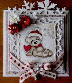 Rapport från min pysselvrå: Julkort