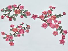 Ricamato Appliques fiore ricamato patch per abito DIY di POPOLace