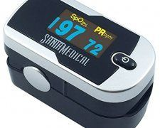 Santamedical Generation 2 OLED Fingertip Pulse Oximeter Oximetry Blood Oxygen Saturation Monitor with batteries and lanyard - Silver, Buy now at OFFER Price Hemoglobin Levels, Good Blood Pressure, Gift Card Giveaway, Amazon Gifts, Monitor, Display, Cards, Baby, Finger