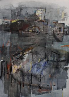 PARA-NOESIS - Maria Balea - mixed media on canvas - 100 x 140 cm - 2012