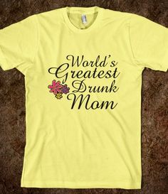 Not only can you get Worlds Greatest Soccer mom t-shirt but now you can get this as well. Way to go t-shirt company!