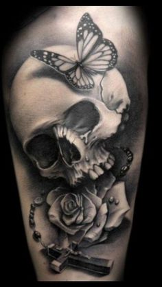 skull tattoos for women girl skull tattoos gothic tattoos tattoo skull ...