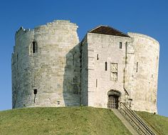 If you are in York you might as well stop and see Clifford's Tower.  Great view of the York Minster from the top.