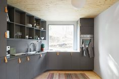 Asketisk lyx. Arkitektur med kärlek till plywood.