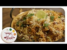 Veg Biryani   Easy & Homemade   Recipe by Archana   Indian Rice Main Course in Marathi - YouTube