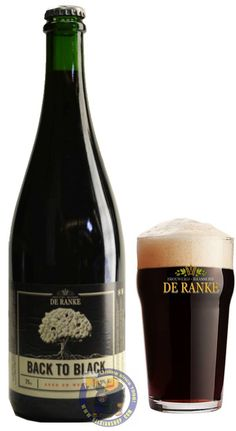 Our New Beer: De Ranke Back to Black 9.5° Available at http://store.belgianshop.com/special-beers/2140-de-ranke-back-to-black-95-34l.html . This beer has been designed as an old export porter. It has been brewed as undrinkable bitter and then aged in wood for 9 months. ....