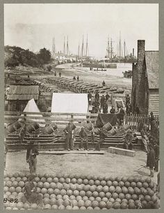 Yorktown, Va., May 1862. A scene during the Civil War