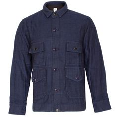 Garbstore Flight Four Pocket Shirt Indigo