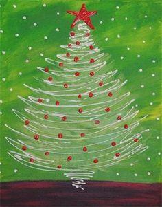Swirly Christmas Tree
