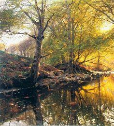 Датский художник-пейзажист Петер Мёрк Мёнстед . Обсуждение на LiveInternet…