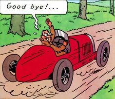 Tintin en América - Bugatti 35 1924