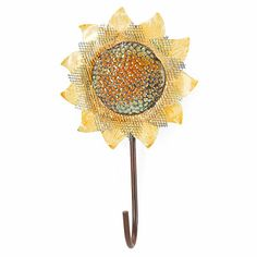 Sunflower Hooks at Big Lots.