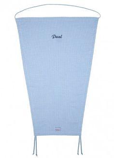 Lakrao blaues Sonnensegel für Buggys personalisiert