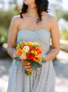 Classic vineyard wedding with a pop of color: http://www.stylemepretty.com/2014/07/30/classic-vineyard-wedding-with-a-pop-of-color/ | Photography: http://emthegem.com/