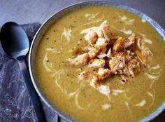 Høst + kaldere vær = nydelige supper Her i huset har vi suppe til middag minst en gang i uka - o...