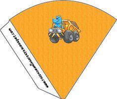 Imprimibles dinosaurio constructor 3. | Ideas y material gratis para fiestas y celebraciones Oh My Fiesta!
