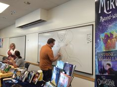 Local Author Showcase at the Sandy Library - Character Mashup with Mikey Brooks