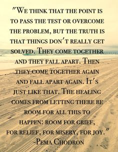 Positive Quotes : We think the point is to pass the test. - Hall Of Quotes Quotable Quotes, Wisdom Quotes, Quotes To Live By, Me Quotes, Sunday Quotes, Buddhist Wisdom, Buddhist Quotes, Falling Apart Quotes, Great Quotes