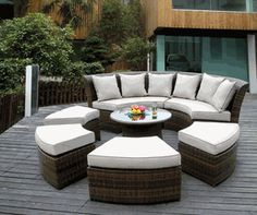 I think this is the set that I want for the patio!