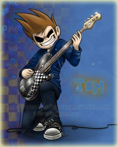 Tom playing his bass
