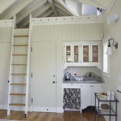 Tiny House space saving concept, great for a third space!