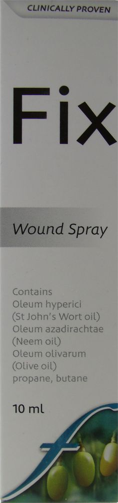 FIX WOUND SPRAY 10ML Neem Oil, Household Products