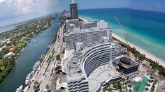 Miami Beach Hotels Skyline