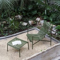 chair with ottoman HAY Palissade Outdoor High Lounge Chair Outdoor Dining Set, Outdoor Seating, Outdoor Chairs, Outdoor Decor, Outdoor Lounge, Indoor Outdoor, Garden Seating, Outdoor Cinema, Patio Dining