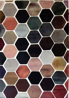 collectorandco:  watercolour pattern / la déco turbulente