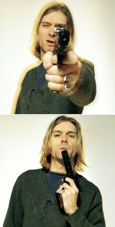 Kurt Cobain by Youri Lenquette. Paris, FR. 2/14/1994.