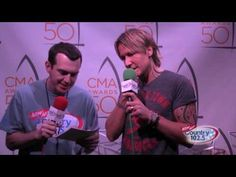 The 50th Annual CMA Awards Broadcast: Keith Urban Interview