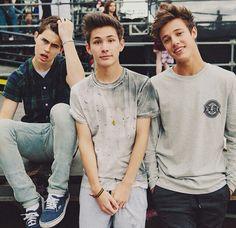Nash, Carter, and Cameron