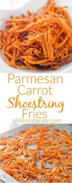 Parmesan carrot shoe