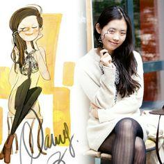 Nancy Zhang, love her drawings.