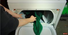 Dry laundry twice as fast with this simple tip.
