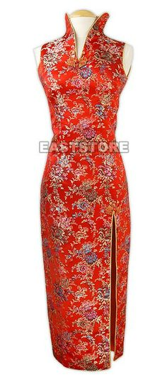 Graceful and festive. This Festive Bridal Floral Dress is fine cutting and well designed by our...