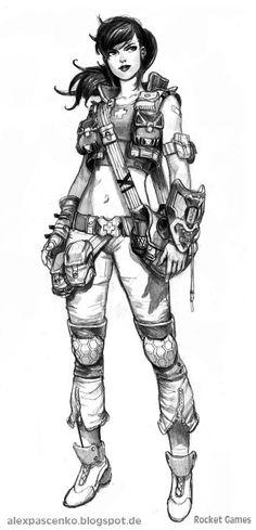 field doctor female by AlexPascenko