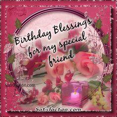 happy birthday to a special friend Happy Birthday Gif Images, Happy Birthday Messages, Birthday Photos, Birthday Greetings Friend, Birthday Blessings, Friend Birthday, Birthday Cake Gif, Birthday Board, Happy Birthday Woman