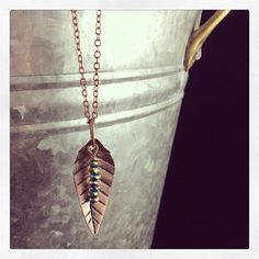 Just one leaf. Just listed in etsy shop. Dave's metalwork.