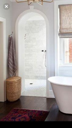 Home Interior Diy .Home Interior Diy Home Interior, Bathroom Interior, Modern Bathroom, Small Bathroom, Interior Design, Boho Bathroom, Bathroom Showers, Bathroom Ideas, Bathroom Organization