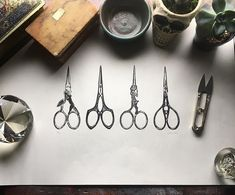 Exquisite embroidery scissors by print pal @carolinerieu 🖤 And Caroline, my very utilitarian thread snippers are feeling a wee bit overshadowed in the presence of such refinery. ☺️My interns really enjoyed studying your detailed carving as well, they were also so impressed! I'm excited to have this framed near my sewing desk to inspire me. Wishing my best to you from far away 🖤 \\ // \\ // #follysomeprints #follytosome #handcarved #artist #art #blockprint #carvingart #dsart #communityovercompe Lino Prints, Block Prints, Sewing Desk, Embroidery Scissors, Print Ideas, You Are Awesome, Artist Art, Studying, Printmaking