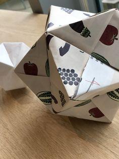 折り紙の手毬…♪