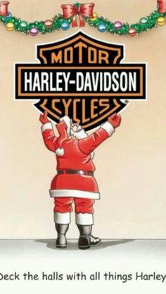 Harley-Davidson of West Virginia: Motorcycle Dealer, Charleston Motos Harley, Harley Bikes, Harley Davidson Posters, Harley Davidson Motorcycles, David Mann Art, Harley Davison, Motorcycle Art, Funny Art, Merry Christmas