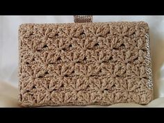 CLUTCH Tutorial passo passo - Crochet - YouTube