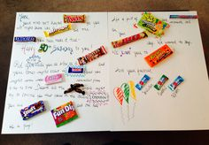 Birthday Candy Grams on Pinterest | Candy Grams, Candy Bar Poems and ...