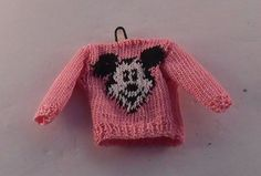 Mouse Sweater Pink by A Touch of the Past