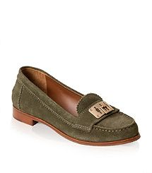 TB's Suede Mona Loafer -- love fall neutrals!
