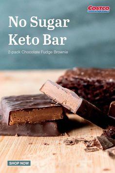 Brownie Shop, Keto Bars, Chocolate Fudge Brownies, Healthy Eating, Sugar, Candy, Desserts, Food, Eating Healthy